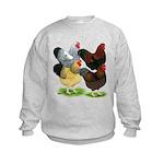 Wyandotte Rooster Assortment Kids Sweatshirt
