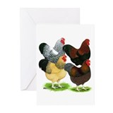 Wyandotte Rooster Assortment Greeting Cards (Pk of