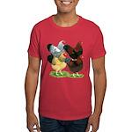Wyandotte Rooster Assortment Dark T-Shirt