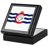 Cincinnati Flag Keepsake Box