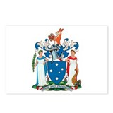 Victoria Coat of Arms Postcards (Package of 8)