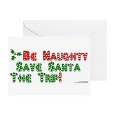 funny x-mas (naughty) Greeting Card
