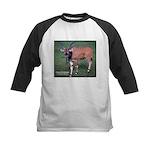 Eland Antelope Photo Kids Baseball Jersey