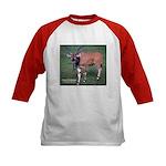 Eland Antelope Photo (Front) Kids Baseball Jersey