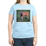 Eland Antelope Photo Women's Pink T-Shirt