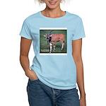 Eland Antelope Photo (Front) Women's Pink T-Shirt