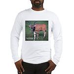 Eland Antelope Photo (Front) Long Sleeve T-Shirt