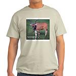 Eland Antelope Photo (Front) Ash Grey T-Shirt
