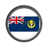 South Australia Flag Wall Clock