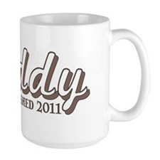 Daddy Established 2011 Mug