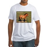Mongolian Wild Horse Photo (Front) Shirt