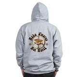 Make Smores Not Wars Zip Hoodie