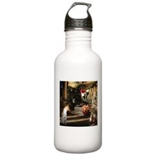 Basenji Christmas Eve Water Bottle