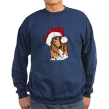 Christmas Collie Sweatshirt