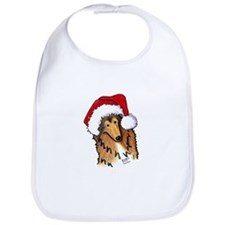 Christmas Collie Bib