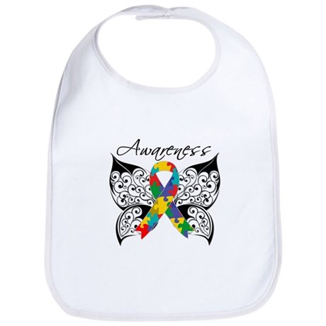 Awareness Butterfly Autism Bib