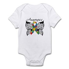 Awareness Butterfly Autism Infant Bodysuit