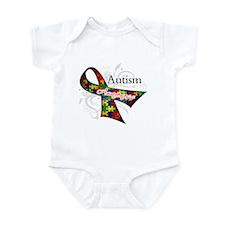 Autism Awareness Ribbon Infant Bodysuit
