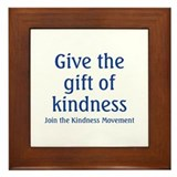 Kindness Framed Tile