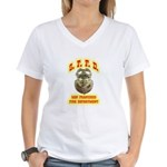 S.F.F.D. Women's V-Neck T-Shirt