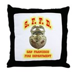 S.F.F.D. Throw Pillow