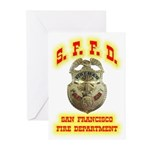 S.F.F.D. Greeting Cards (Pk of 10)
