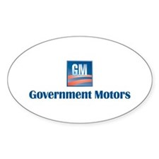 Government Motors Detroit Decal