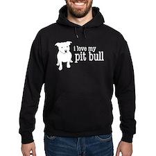 Love My Pit Bull Hoodie