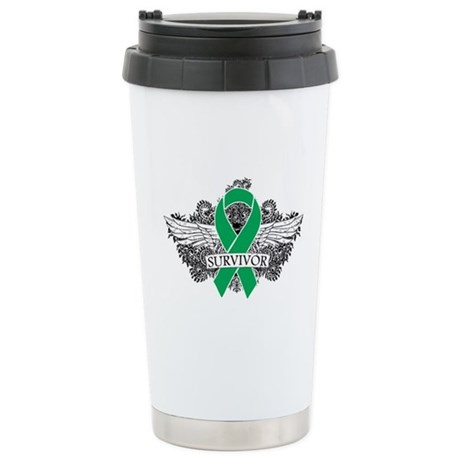 Survivor - Liver Cancer Ceramic Travel Mug