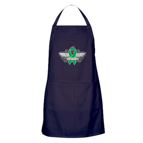 Survivor - Liver Cancer Apron (dark)