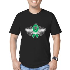 Survivor - Liver Cancer Men's Fitted T-Shirt (dark