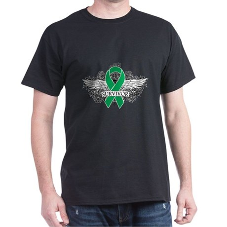 Survivor - Liver Cancer Dark T-Shirt