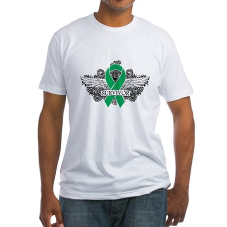 Survivor - Liver Cancer Fitted T-Shirt