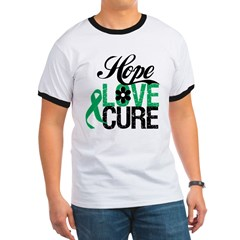 Hope Love Cure Liver Cancer Ringer T