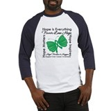 Hope is Everything Liver Canc Baseball Jersey