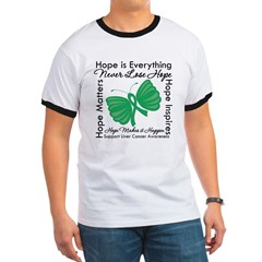 Hope is Everything Liver Canc Ringer T