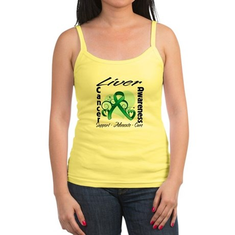 Liver Cancer Awareness Jr. Spaghetti Tank