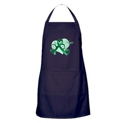 Hope Ribbon - Liver Cancer Apron (dark)