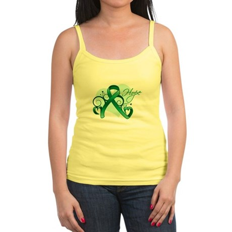 Hope Ribbon - Liver Cancer Jr. Spaghetti Tank