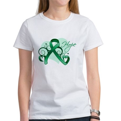 Hope Ribbon - Liver Cancer Women's T-Shirt