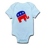 Republicans Stomp Democrats Onesie