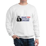 Uncle Sam - Speak English Jumper