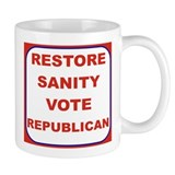 RESTORE SANITY VOTE REPUBLICAN