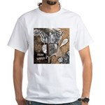 Chaos Rise Up White T-Shirt
