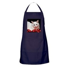 Xmas Cat Apron (dark)