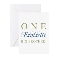 One Fantastic Big Brother Greeting Cards (Pk of 10