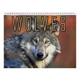 Wolves Wall Calendar