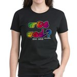 Got ASL? Rainbow SQ CC Women's Dark T-Shirt