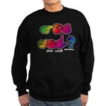 Got ASL? Rainbow SQ CC Sweatshirt (dark)