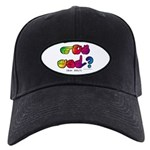 Got ASL? Rainbow SQ CC Black Cap
